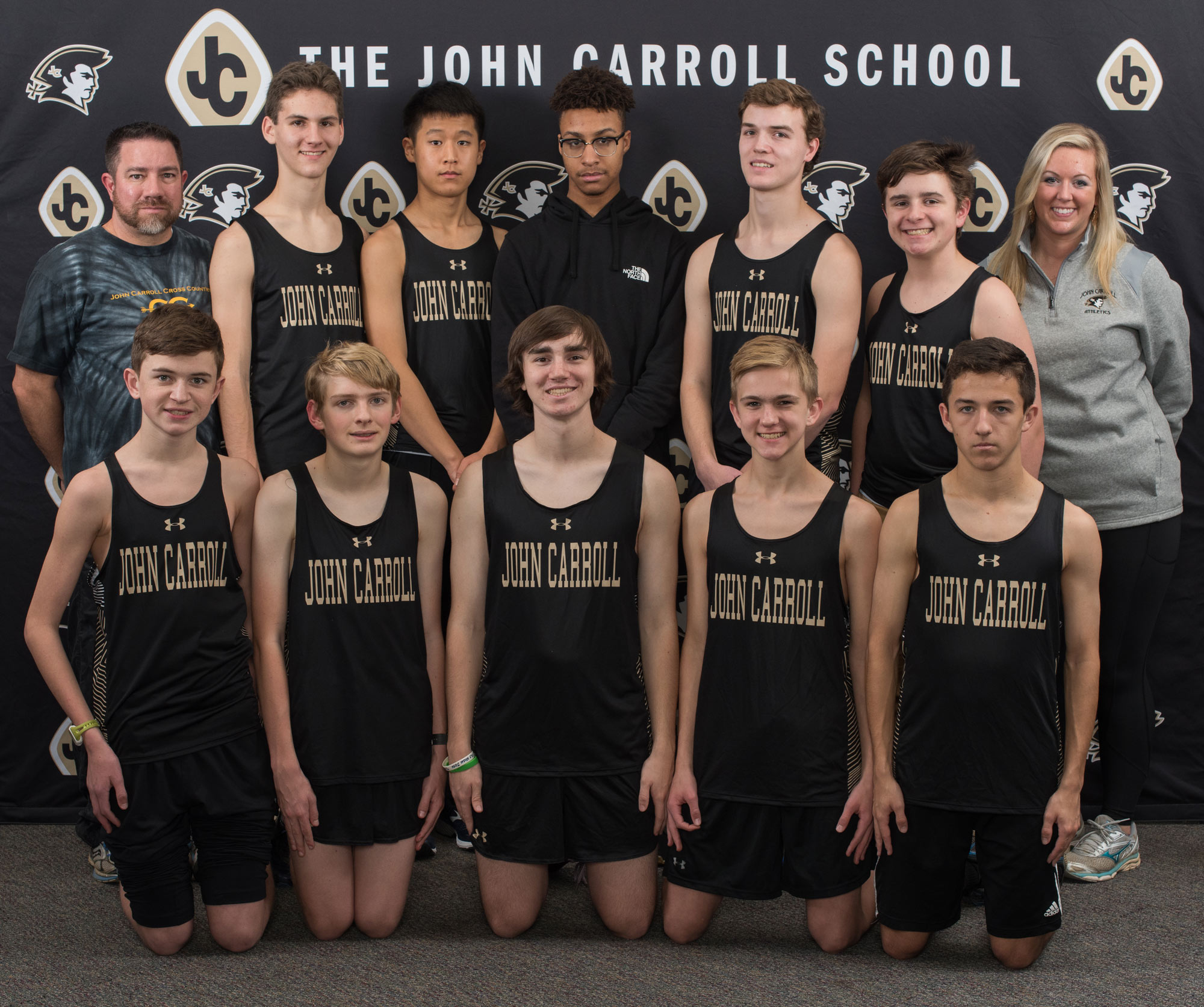 2018-2019 Boys Indoor Track Team