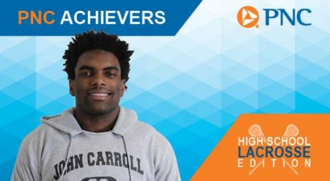 Rosser '18 named PNC Achiever of the Week